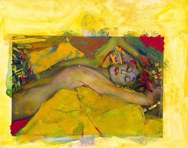 Leiter, Painting on Nude